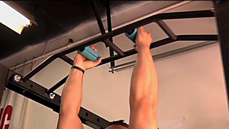 Parallel Fat-Grip Pull-ups