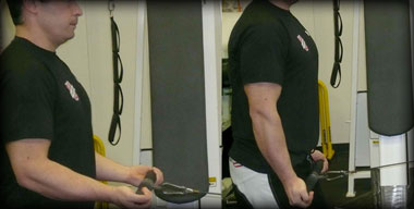 Low Pulley Triceps Extension