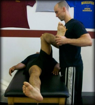 Internal hip rotation, test #1.