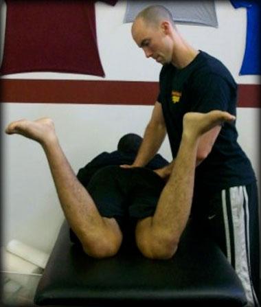 Internal hip rotation, test #2