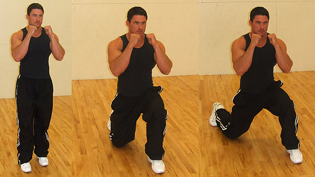180 Lunges