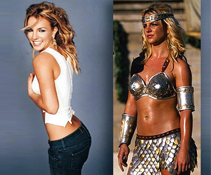 Britney comparison