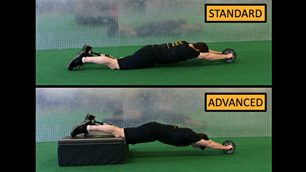 Ab Wheel Roll-Out Iso Hold