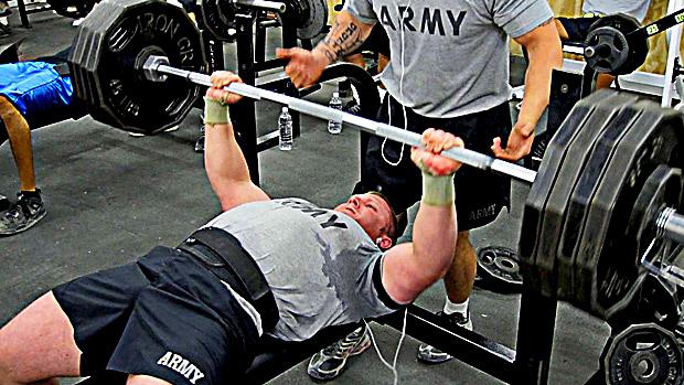 Army Bench Press