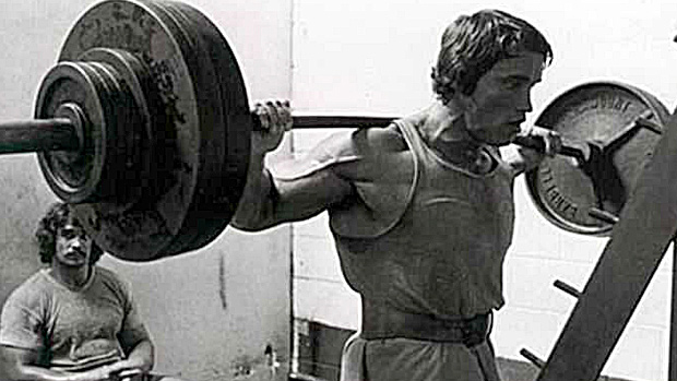 Arnold Heavy Barbell