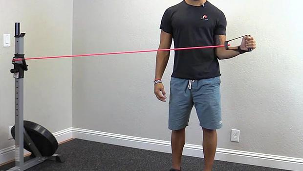 Banded Shoulder External Rotation