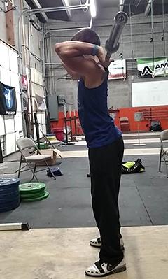 Bar Back Stretch