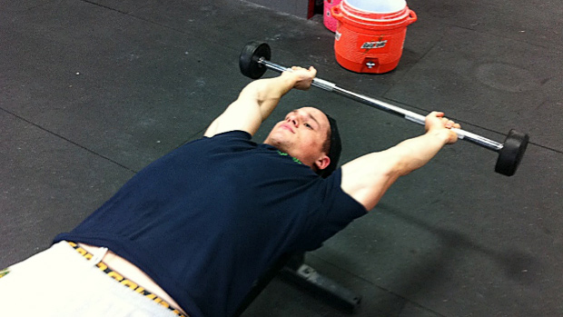 Barbell Pullover Holds
