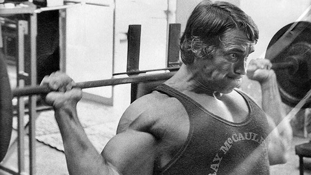 Behind the Neck Press Arnold