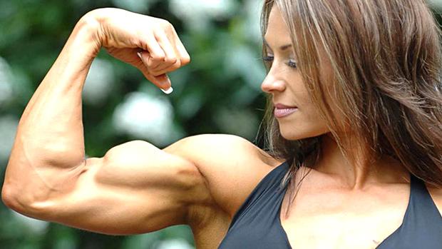 Biceps Woman