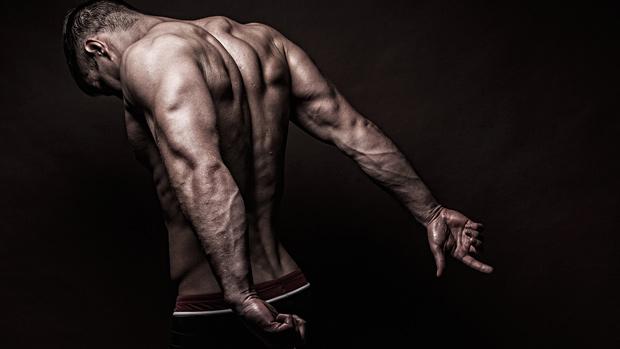 Bodybuilder Back