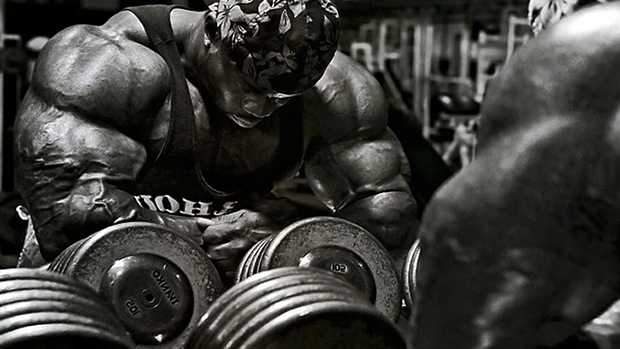 Bodybuilder Dumbbells