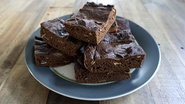 Brownies On Plate
