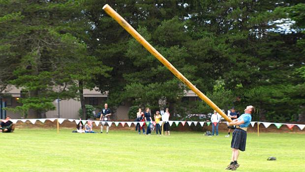 Caber Highland Games