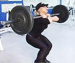 Close-Stance Front Squat