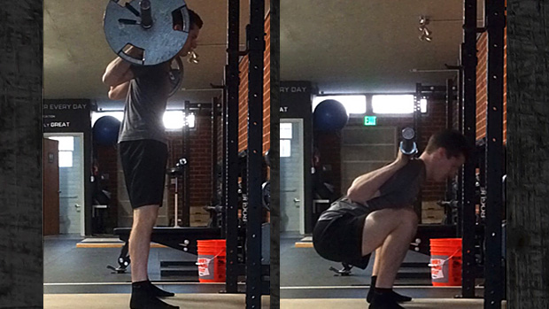 Correct Squat Set-Up And Descent Comparison