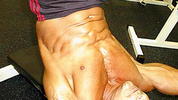 Decline Abdominal Hip Extensions