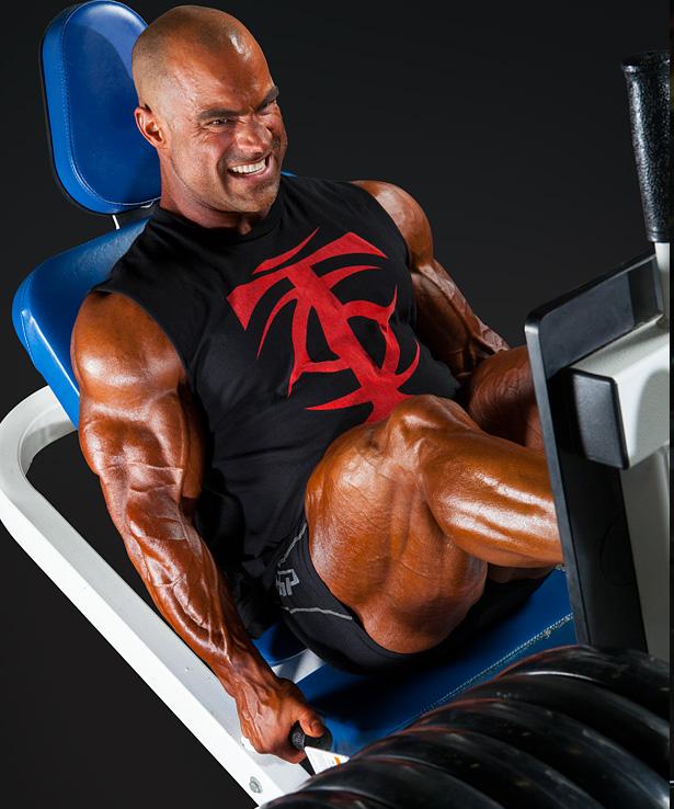 Mark Dugdale Leg Press