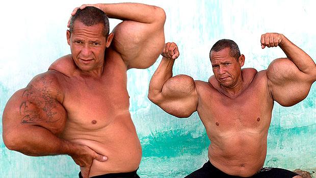 Dumpy Biceps Guy