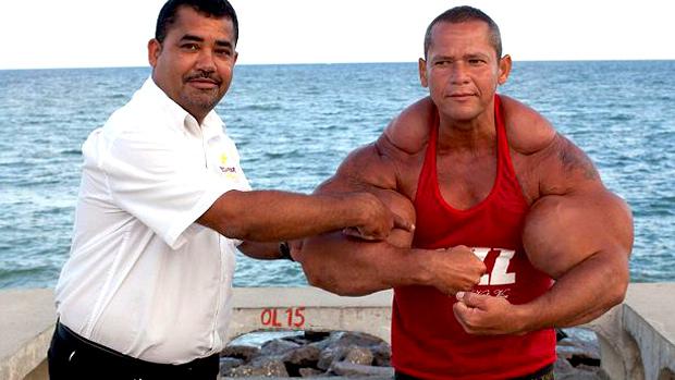 Fake Bodybuilder