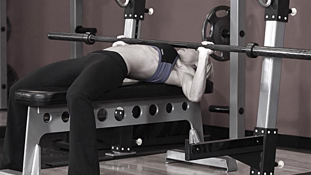 Female Bench Press