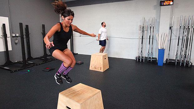 Female Box Jump