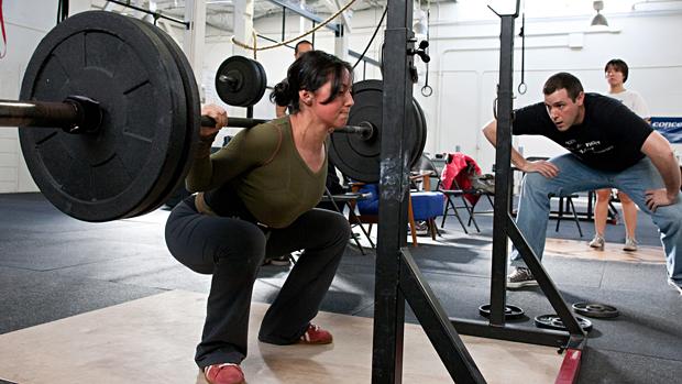 Female Squat