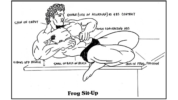 Frog-sit-up