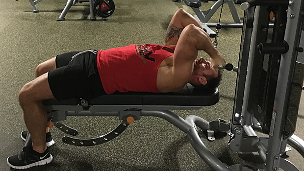 Guillotine High-Cable Curl 2