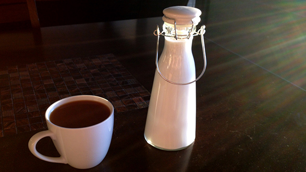 Half and Half and Coffee