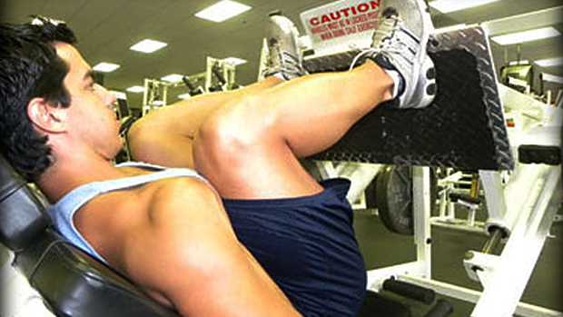 Hamstring Leg Press