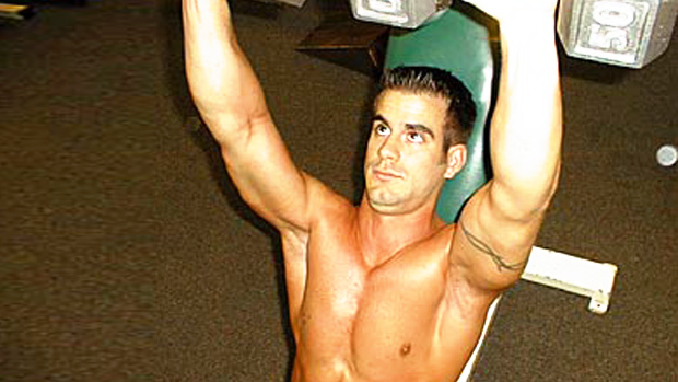 High Incline Dumbbell Chest Press