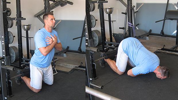 Kneeling hip extension