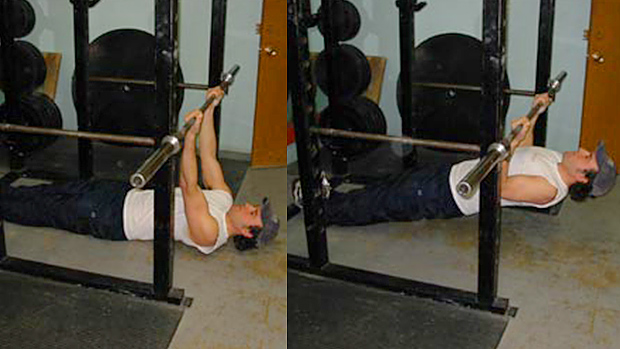 Incline chin-up