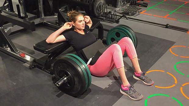 Kate Upton Workout