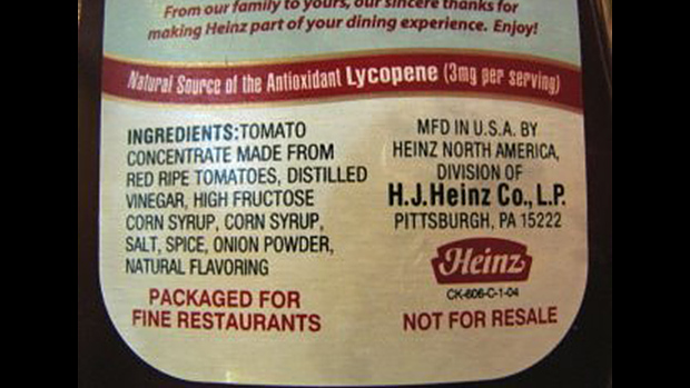 Ketchup HFCS