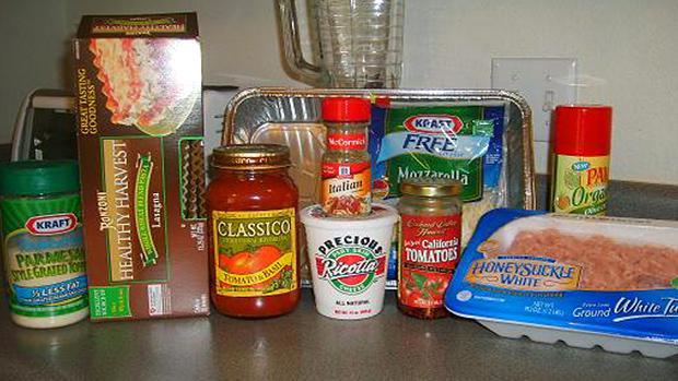 Lasagna-Ingredients