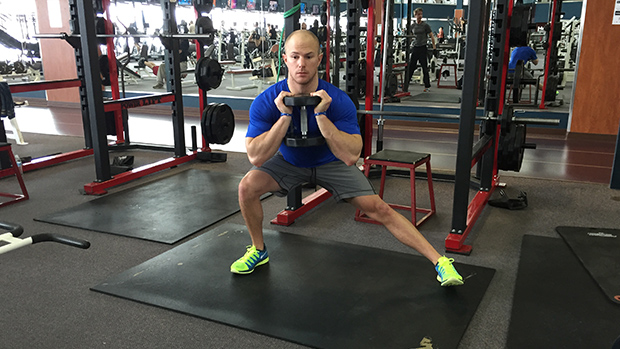 Lateral Lunge 2