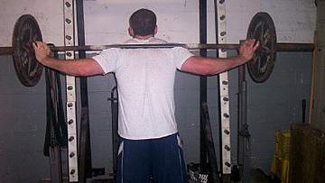 Low Bar Wide Grip Squat