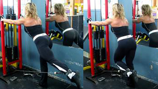 Low Cable Hip Extension