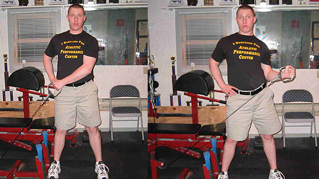 Low Pulley External Rotation