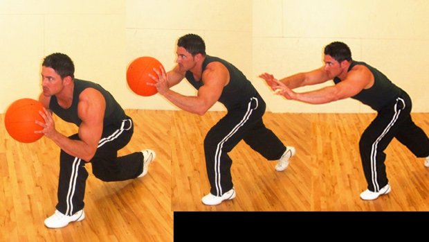 Lunging Throw