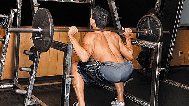 Male Squat