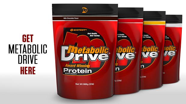 Metabolic Drive Banner
