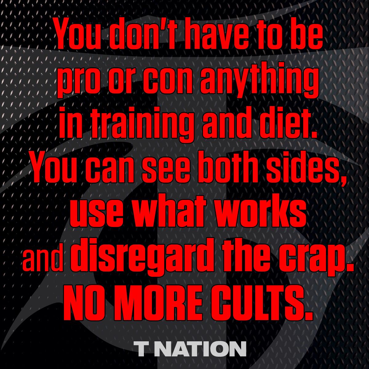 No More Cults