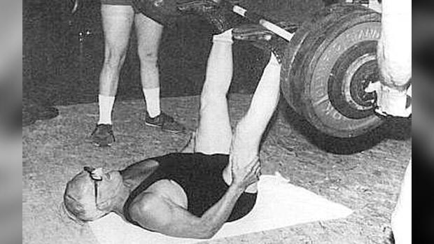 old man lifting