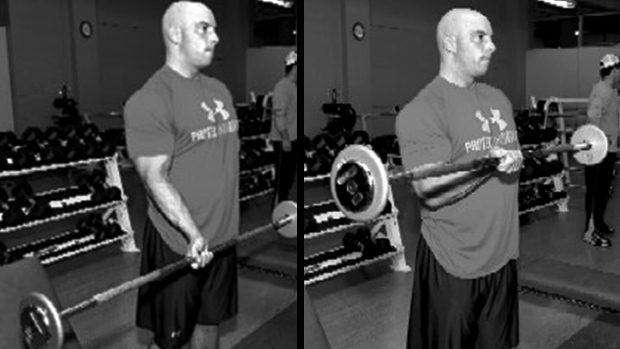 One-Arm Barbell Curl