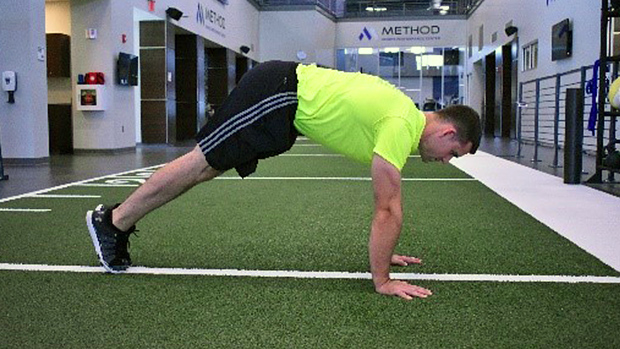 Plank Hips Lifted