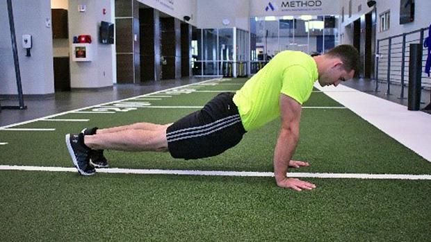 Plank Hips Sagging