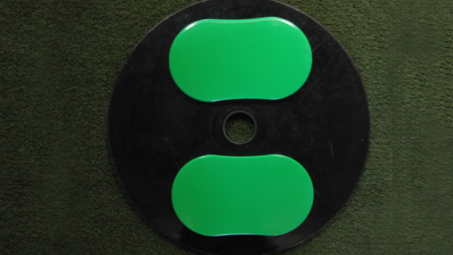 Plate with sliders